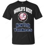 Amazing World's Best Dad New York Yankees T Shirts bestfunnystore.com T Shirt