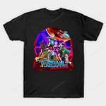 Vindicators T-Shirt Cartoon Guardians of the Galaxy Parody Rick and Morty TV T Shirt