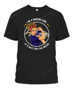 I'm a Ravens girl NFL Baltimore Ravens T Shirt