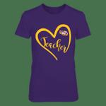 LSU Tigers - Heart Teacher LSU Tigers T Shirt