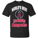 Amazing World's Best Dad Los Angeles Angels T Shirts bestfunnystore.com T Shirt