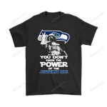 You Don't Know The Power Of The Seahawks Side Star Wars NFL Shirts Dark Side Darth Vader football NFL Seattle Seahawks Star Wars T Shirt