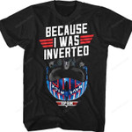 Maverick Inverted Top Gun T-Shirt 80s Movie T Shirt