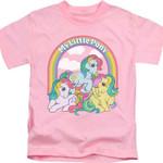 Youth Pink My Little Pony Shirt 80S CARTOON T Shirt