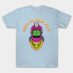Mr. Trap Jaw T-Shirt Cartoon Mr. T Parody Teenage Mutant Ninja Turtles TMNT Trap Jaw TV T Shirt