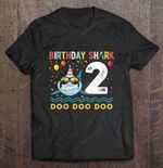 Birthday Shark 2 Doo Doo Doo Birthday T Shirt