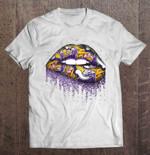 Minnesota Vikings Lips Football T Shirt