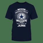 NV cowboys in june NFL Dallas Cowboys 2 T Shirt