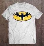 Batless - Toothless And Batman White Version Batless Batman How to train your dragon Toothless Toothless and Batman T Shirt
