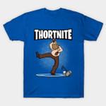Thortnite! T-Shirt Thor The Avengers Shirt Avengers: Endgame Fortnite Marvel Comics Parody Superhero The Avengers Thor Video Game T Shirt