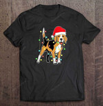 Beagle Dog Christmas Lights BEST SELLING CHRISTMAS T Shirt