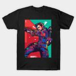 Marksman Heroes Pop Art T-Shirt Clint Barton Hawkeye Marvel Comics Superhero The Avengers T Shirt