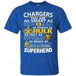 Los Angeles Chargers You're My Favorite Super Hero T Shirts bestfunnystore.com T Shirt