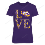 LSU Tigers - Bloming Team LSU Tigers T Shirt