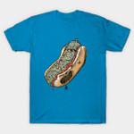 FRANKenstein T-Shirt Frankenstein Frankentein's monster frankfurter Hot Dog Parody T Shirt