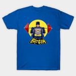 Batgym T-Shirt Batman Bruce Wayne DC Comics gym Parody Superhero TV T Shirt