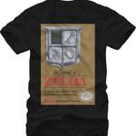 Zelda Cover Art Shirt SUPER MARIO T-SHIRTS T Shirt