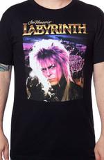 Jareth Labyrinth T-Shirt Celebrity David Bowie Labyrinth movie T Shirt