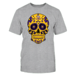 LSU - Sugar Skull LSU Tigers T Shirt