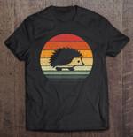 Hedgehog Vintage Version Hedgehog Hedgehog Lover T Shirt