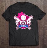 Team Girl Baseball Team Sport T Shirt