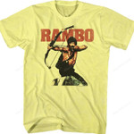 Bow and Arrow Rambo Shirt Best Selling 80 T Shirt