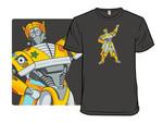Take chances. Make mistakes. Get messy! T-Shirt Cartoon Mashup The Magic School Bus Transformers TV T Shirt
