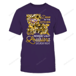 LSU Tigers - Louisiana-Saturday-Night-Dogs-Inside-State-Map-IF32-IC32-DS27 LSU Tigers T Shirt