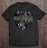 I'm A Burtonholic NIGHT BEFORE CHRISTMAS T Shirt