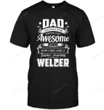 Dad Thanks For Sharing Your DNA Welder T Shirts bestfunnystore.com T Shirt