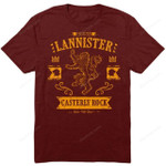 The Golden Lion T-Shirt Casterly Rock Game of Thrones hear me roar House Lannister TV T Shirt
