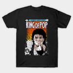 King of Pop T-Shirt Comic Book Michael Jackson music Parody Wolverine #1 T Shirt