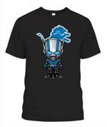 Anti Man chibi Lions NFL Detroit Lions T Shirt