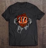 Cincinnati Bengals - NFL Heartbeat NFL T Shirt