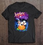 Trick Or Treat Minnie And Mickey Mouse Halloween Disney Mickey Mickey Mouse Minnie Minnie Mouse Trick or treat T Shirt