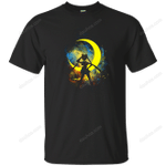 Moon Art T-Shirt anime T Shirt