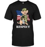 Labrador - Soldier T Shirts bestfunnystore.com T Shirt
