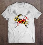 Maryland Crab Lacrosse Sport T Shirt