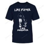 Like Father Like Daughter Dallas Cowboy NFL Dallas Cowboys 2 T Shirt