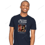 D And D: 11th Edition T-Shirt Dalek Doctor Who Dungeons Andamp; Dragons Parody TV T Shirt