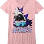 Junior Pink Jaws Shirt JAWS T-SHIRTS T Shirt