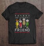 Thank You For Being A Friend Golden Girls Christmas Version Golden Girls T Shirt