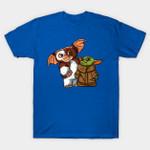 Star War THE MANDALORIAN Kawaii duo T-Shirt Star Wars The Mandalorian T Shirt