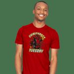 Chimichanga Tuesday Deadpool T-Shirt Deadpool Shirts T Shirt