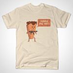 PIE HARD T-Shirt Die Hard gun movie Parody pie Quote T Shirt