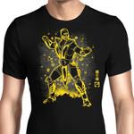 The Scorpion Graphic Arts T Shirt