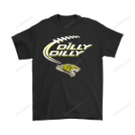 Bud Light: Dilly Dilly! Towson Tigers Neon Light Shirts Bud Light Dilly Dilly football NCAA Neon Light NFL tigers Towson Tigers T Shirt