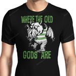 Where The Old Gods Are Graphic Arts T Shirt