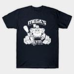 Mega's Gym T-Shirt Cartoon gym Megatron Parody Transformers TV T Shirt