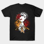 Death punch T-Shirt Anime Manga One Punch Man Saitama T Shirt
